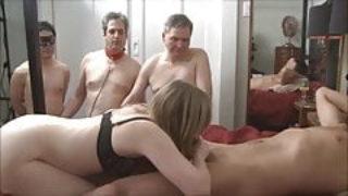 Cuckold entre un couple et un mec bisexuel